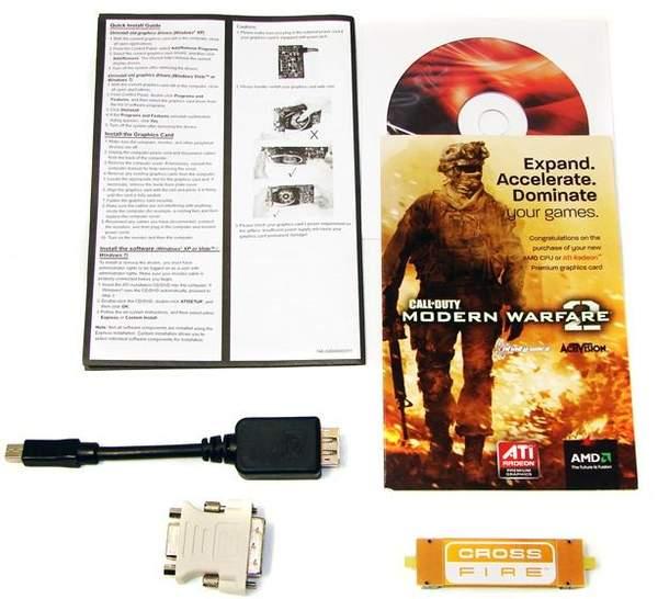 Комплектация видеокарты PowerColor HD 6870 PCS+