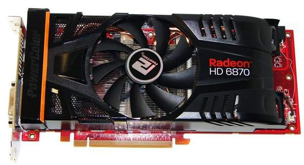 Видеокарта PowerColor HD 6870 PCS+