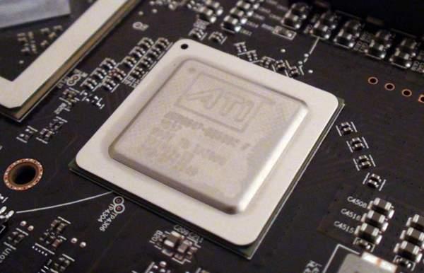 Чип PLX видеокарты Sapphire Radeon HD 6990