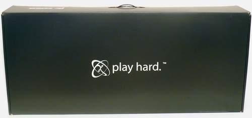 Коробка с видеокартой HD 5970 от XFX