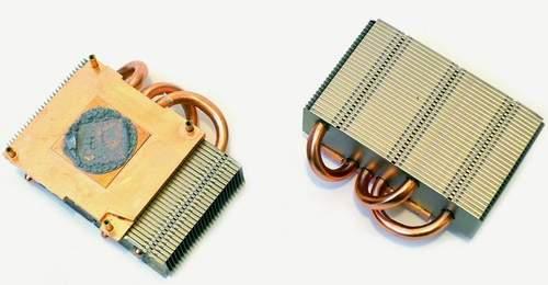 Раздельные радиаторы для отвода тепла от ядер