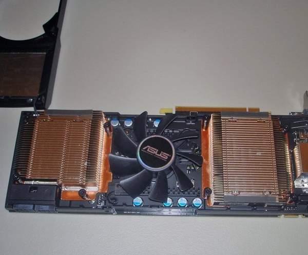 Система охлаждения Asus GeForce GTX 590
