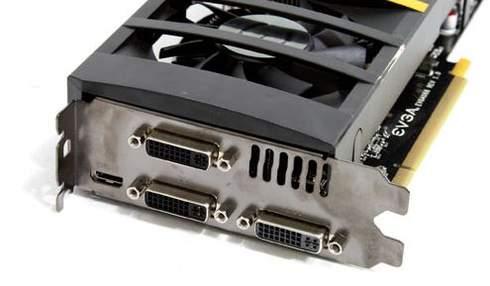 Порты видеокарты EVGA GTX 560 Ti 2Win