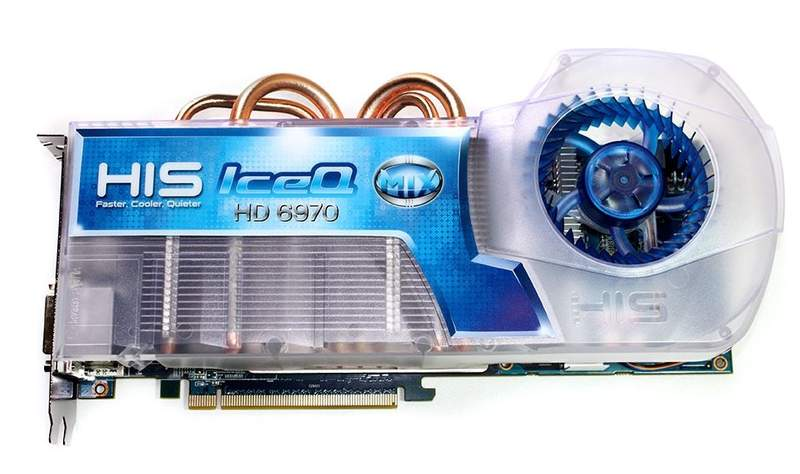 Обзор видеокарты HIS Radeon HD 6970 IceQ Mix