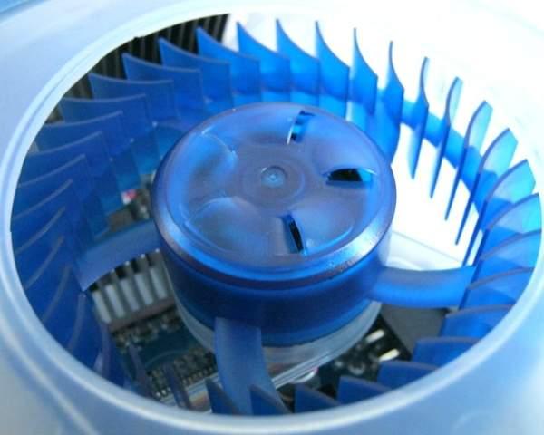 Вентилятор системы охлаждения HIS Radeon HD 6970 IceQ Mix