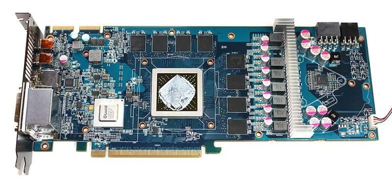 Видеокарта HIS Radeon HD 6970 IceQ Mix без системы охлаждения