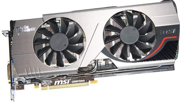 Видеокарта MSI GeForce GTX 580 Lightning