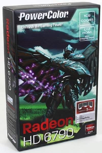 Упаковка видеокарты PowerColor HD 6790