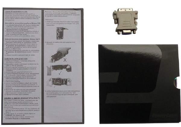 Комплектация видеокарты PowerColor HD 6790