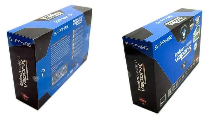 Упаковка Sapphire HD 6850 Vapor-X Edition