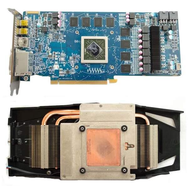 Видеокарта Sapphire HD 6850 Vapor-X Edition без охлаждения