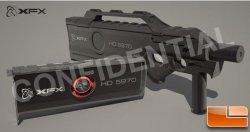 Видеокарта XFX Radeon HD 5970 4Гб Black Edition