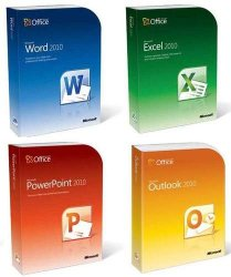 Word, Excel, Power Point, Outlook
