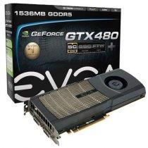 Видеокарта EVGA GeForce GTX 480 SuperClocked +