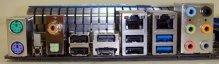 Задняя панель MSI 890FXA-GD70
