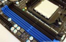 Слоты для модулей памяти MSI 890FXA-GD70