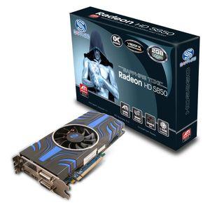 Видеокарта Sapphire HD 5850 2 Гб Toxic